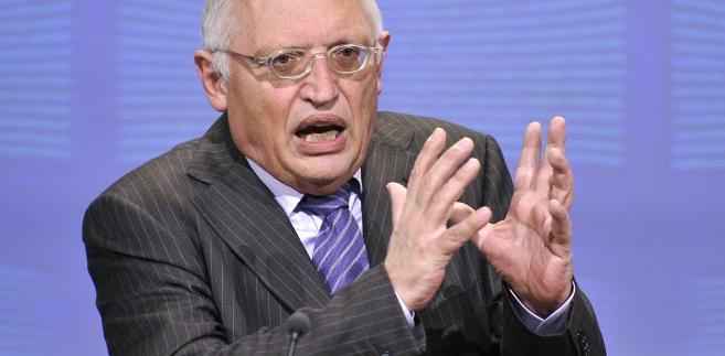 Guenter Verheugen, były komisarz unijny ds. rozszerzenia