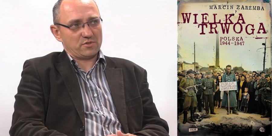 """Marcin Zaremba, """"Wielka trwoga"""", Znak"""