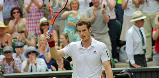 Brytyjczyk Andy Murray jest - obok Novaka Đokovicia - największym faworytem tegorocznego Wimbledonu (kurs 2,40).