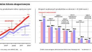 Żywność polskim hitem eksportowym