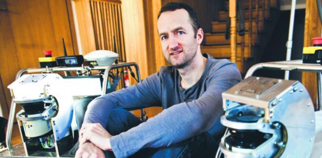 Marek Sadowski, prezes zarządu RI, robotyką zainteresował się w Kalifornii