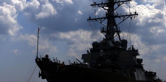Amerykański okręt USS Donald Cook