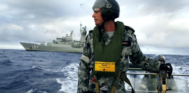 Poszukiwania zaginionego boeinga. Fot.  EPA/AUSTRALIAN DEFENCE DEPARTMENT