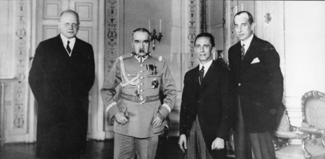 Moltke, Piłsudski, Goebbels i Beck