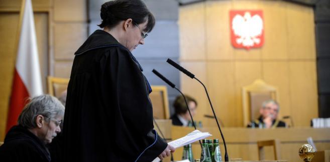 Rozprawa przed Trybunałem Konstytucyjnym