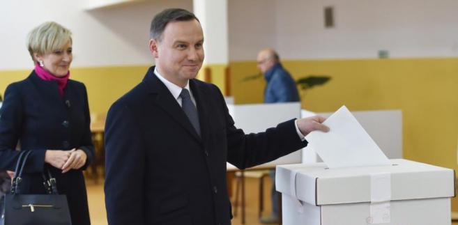 wybory Andrzej Duda