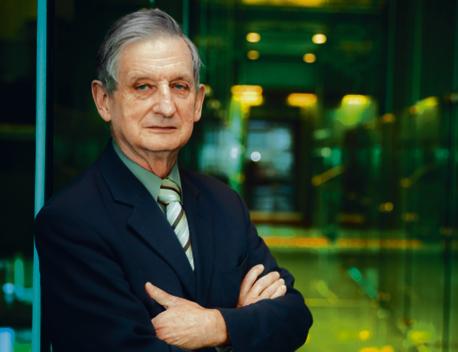 Prof. Lech Paprzycki, prezes Sądu Najwyższego kierujący Izbą Karną