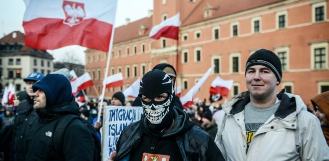 """Demonstracja antyimigrancka """"Przeciw islamizacji Europy"""""""