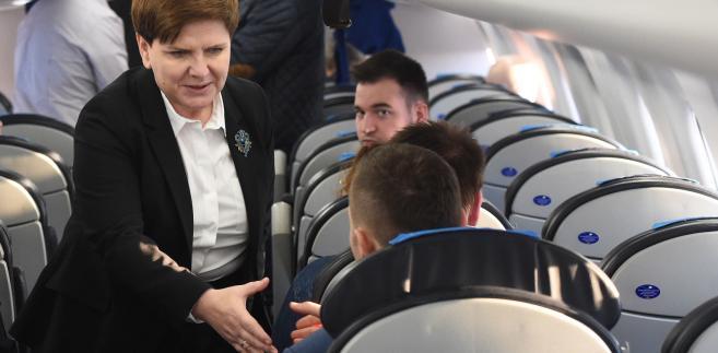 Premier Beata Szydło przybyła w środę wieczorem do Brukseli, gdzie odbędzie się szczyt UE ws. uchodźców