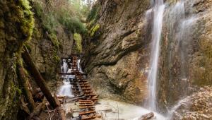 1. Słowacki RajWąwozy w Słowackim Raju mają długość od 0,8 do 4,5 km. To właśnie nimi biegną najciekawsze szlaki tego krasowego płaskowyżu. Do pokonania niektórych odcinków często korzystać trzeba ze sztucznych ułatwień takich jak drabiny, mostki czy metalowe kładki.