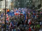 """Trzy marsze z okazji """"Dnia Europy"""". Było spokojnie i bez incydentów"""