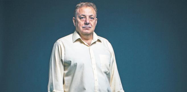 Waiel Awwad, syryjski dziennikarz, korespondent wojenny (Zatoka Perska, Afganistan), szef Klubu Korespondentów Zagranicznych Południowej Azji / fot. Maksymilian Rigamonti