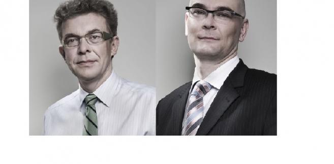 Tadeusz Komosa i Mariusz Aleksandrowicz