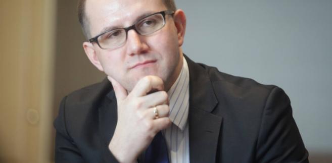 Tomasz Żuchowski, wiceminister infrastruktury i budownictwa