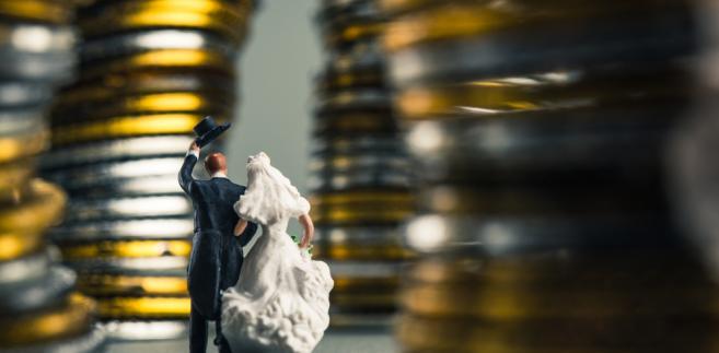 małżeństwo, pieniądze, podatki