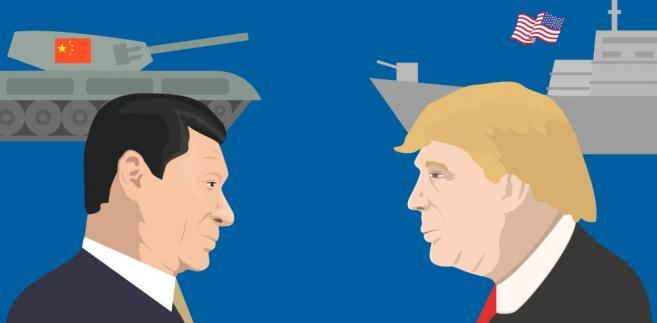 Donald Trump i Xi Jinping