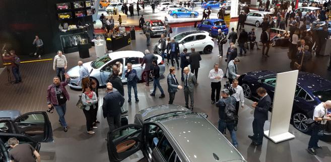 Salon Motoryzacyjny w Genewie.