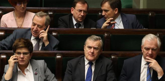 Bochenek: To nie czas na rekonstrukcję rządu, to czas na dyscyplinę