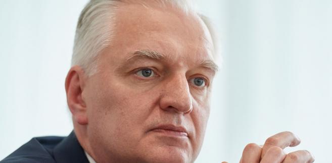 Wicepremier i minister nauki i szkolnictwa wyższego Jarosław Gowin