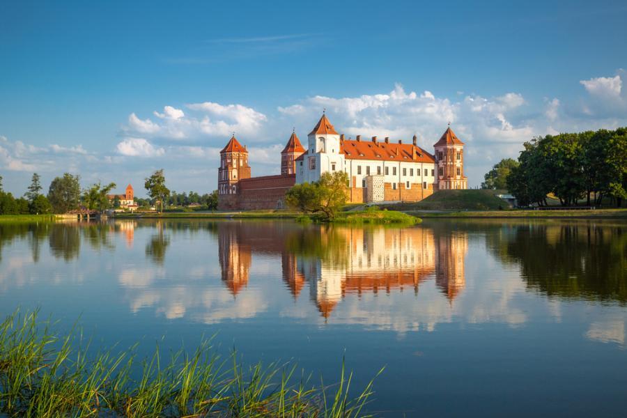 Zamek w białoruskim Mirze