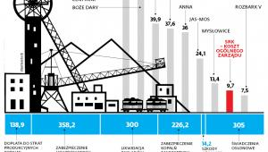 Ile kosztują kopalnie będące obecnie w stanie likwidacji