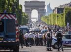 Francja: Eksplozja samochodu na Polach Elizejskich, sprawca najpewniej nie żyje