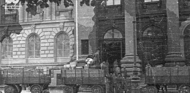 Warszawa wojna Niemcy