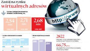 Zastój na rynku wirtualnych adresów