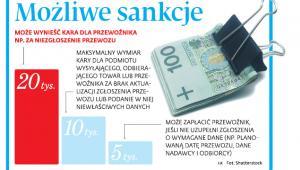 Możliwe sankcje