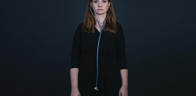 - Nie znam chyba nikogo z moich kolegów, kto nie pracuje poza szpitalem - przyznaje Alicja Sapała-Smoczyńska, fot. Maksymilian Rigamonti