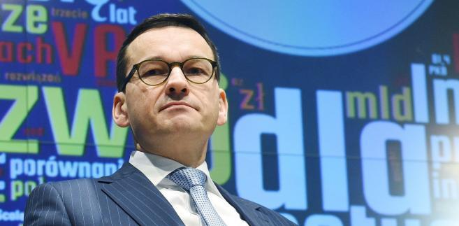 Prace nad pakietem zasad ważnych dla przedsiębiorców przed rokiem podczas Kongresu 590 zapowiedział Mateusz Morawiecki.