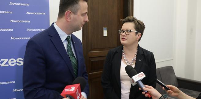 Katarzyna Lubnauer i Władysław Kosiniak-Kamysz