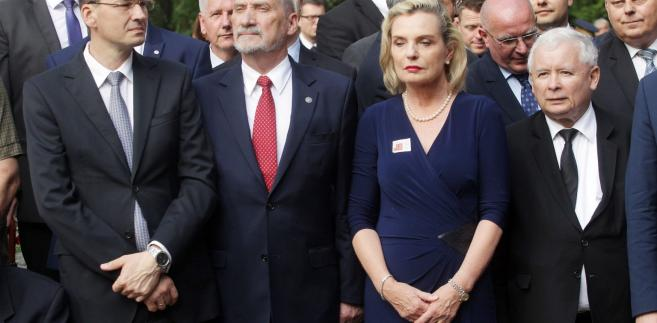 Mateusz Morawiecki, Antoni Macierewicz, Anna Maria Anders, Jarosław Kaczyński