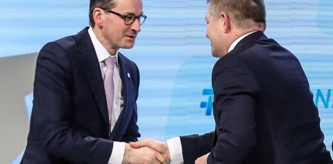Mateusz Morawiecki, Robert Fico