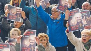 Emeryci protestowali na ulicach stu miast