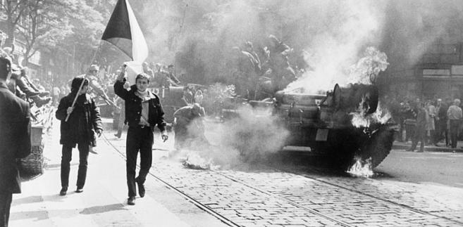 1968, Praga, Czechosłowacja, Układ Warszawski