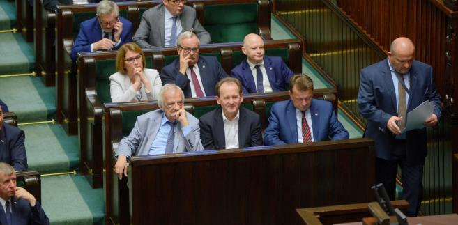 """""""Decyzją Komitetu Politycznego PiS szefem sztabu wyborczego w nadchodzącej kampanii samorządowej będzie Tomasz Poręba"""" - powiedziała Mazurek."""
