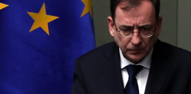 Postępowanie przed SN zostało zawieszone w związku ze złożeniem przez marszałka Sejmu do Trybunału Konstytucyjnego wniosku o rozstrzygnięcie sporu kompetencyjnego pomiędzy prezydentem a SN.
