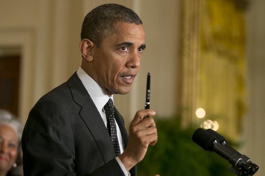 Barack Obama ogłasza swój plan zrównoważonego budżetu.