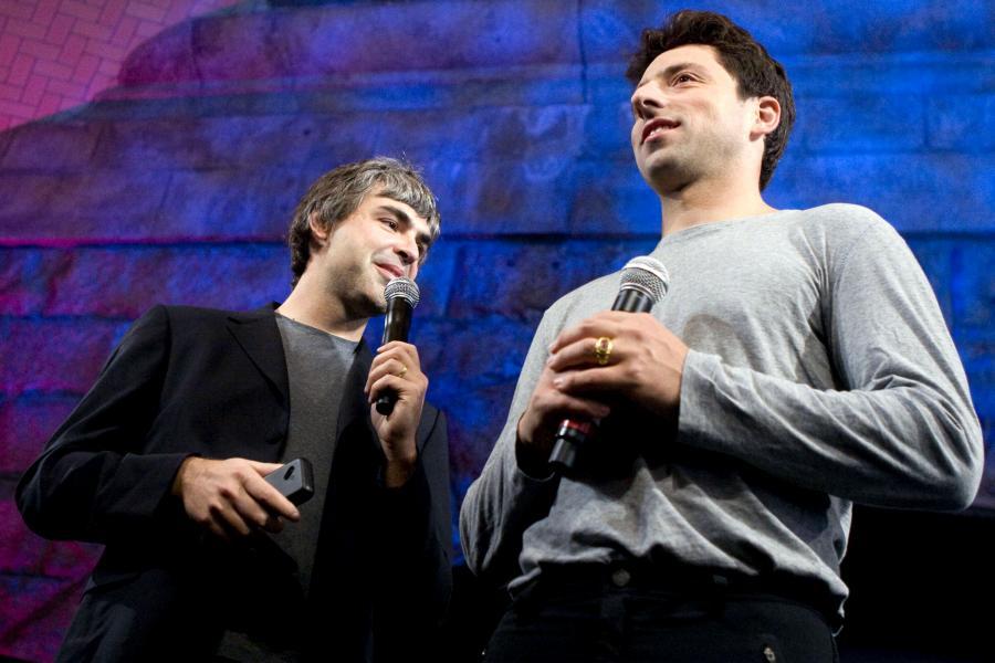 Twórcy Google'a Larry Page i Siergiej Brin