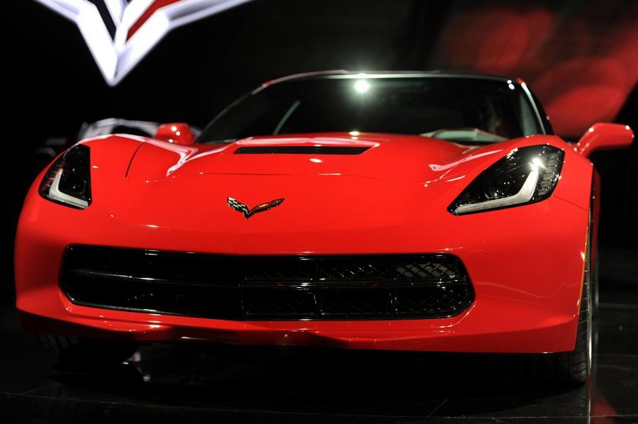 North American International Auto Show 2013: Chevrolet Corvette Stingray