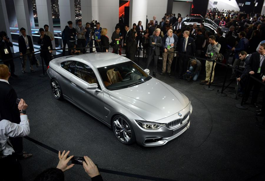 North American International Auto Show 2013: BMW Concept 4 Series Coupe
