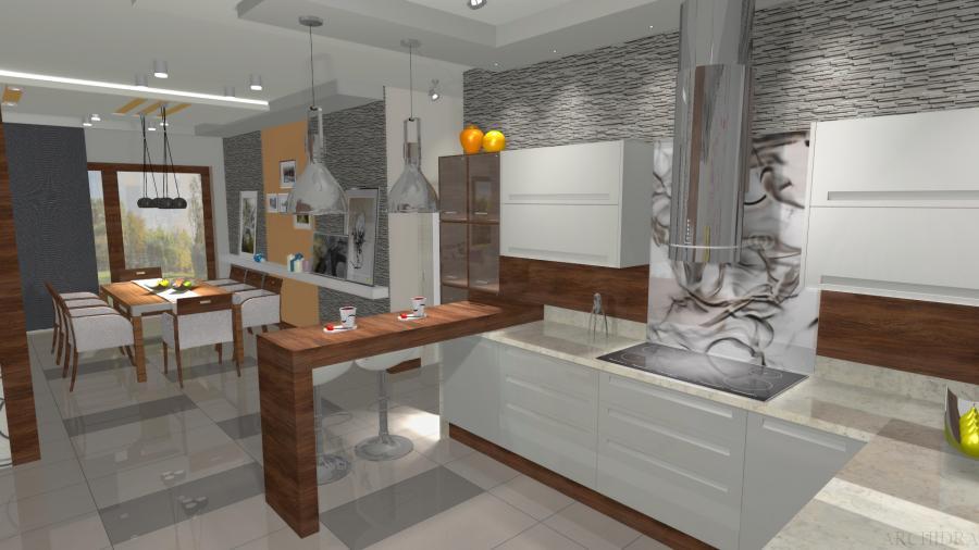 Nowoczesna I Industrialna Aranżacja Kuchni Zdjęcie 6