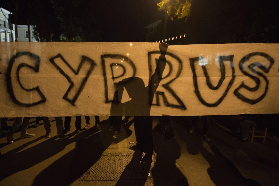 Cypr protestuje.