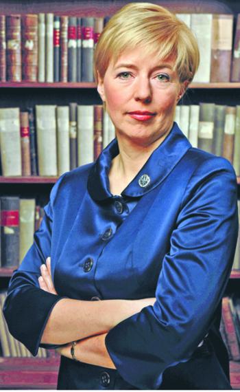 dr Monika Strus-Wołos, adwokat, członek Prezydium Naczelnej Rady Adwokackiej, przewodnicząca Komisji ds. Wizerunku Zewnętrznego i Działalności Pro Bono