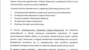 Dokumenty z audytu finansów PiS