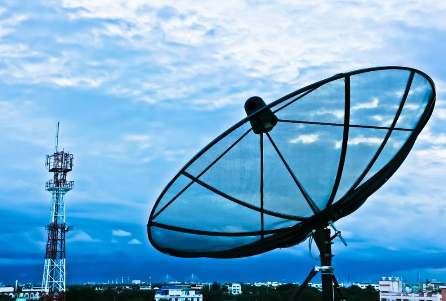 internet, antena satelitarna, nadajnik