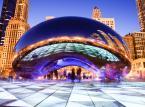 """""""Fasolka"""" w Chicago – inaczej znana jako Cloud Gate stoi w Parku Milenijnym. Jej autorem jest brytyjski artysta Anish Kapoor."""