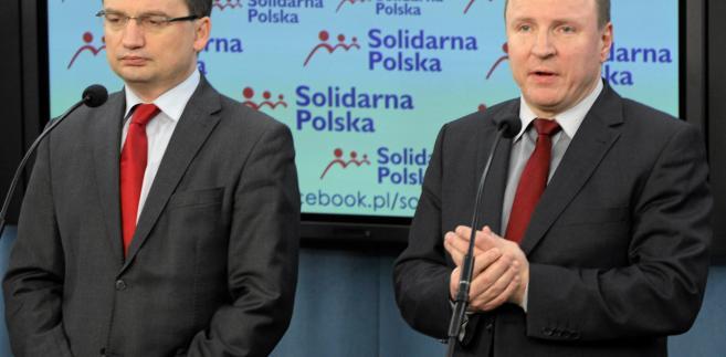 Zbigniew Ziobro i Jacek Kurski