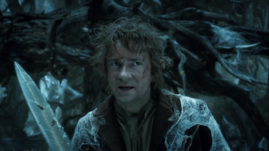 """""""Hobbit: Pustkowie Smauga"""" Martin Freeman"""